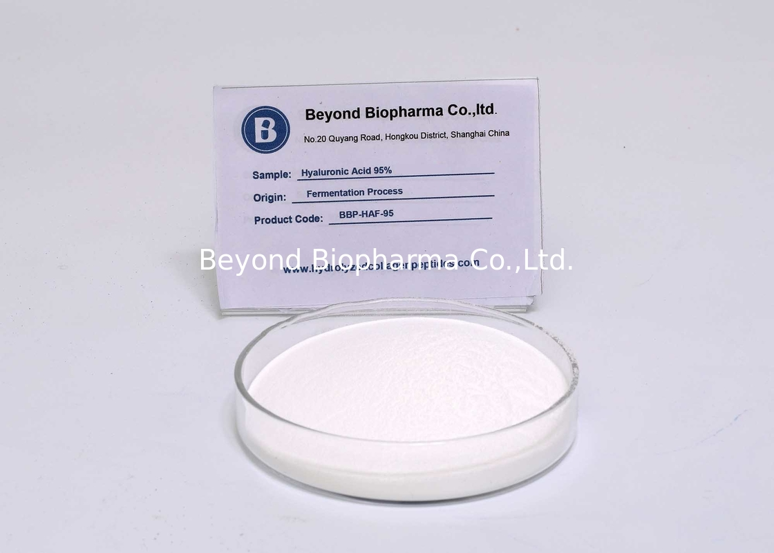 EP Pharmaceutial Grade Hyaluronic Acid For Eye Drop Or Parenteral Burn Ointment