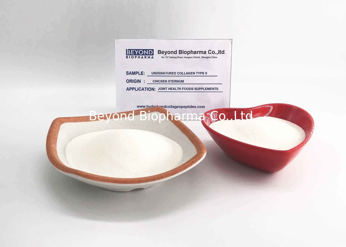 Chicken Cartilages Undenatured Type Ii Collagen Good Solubility Into Water