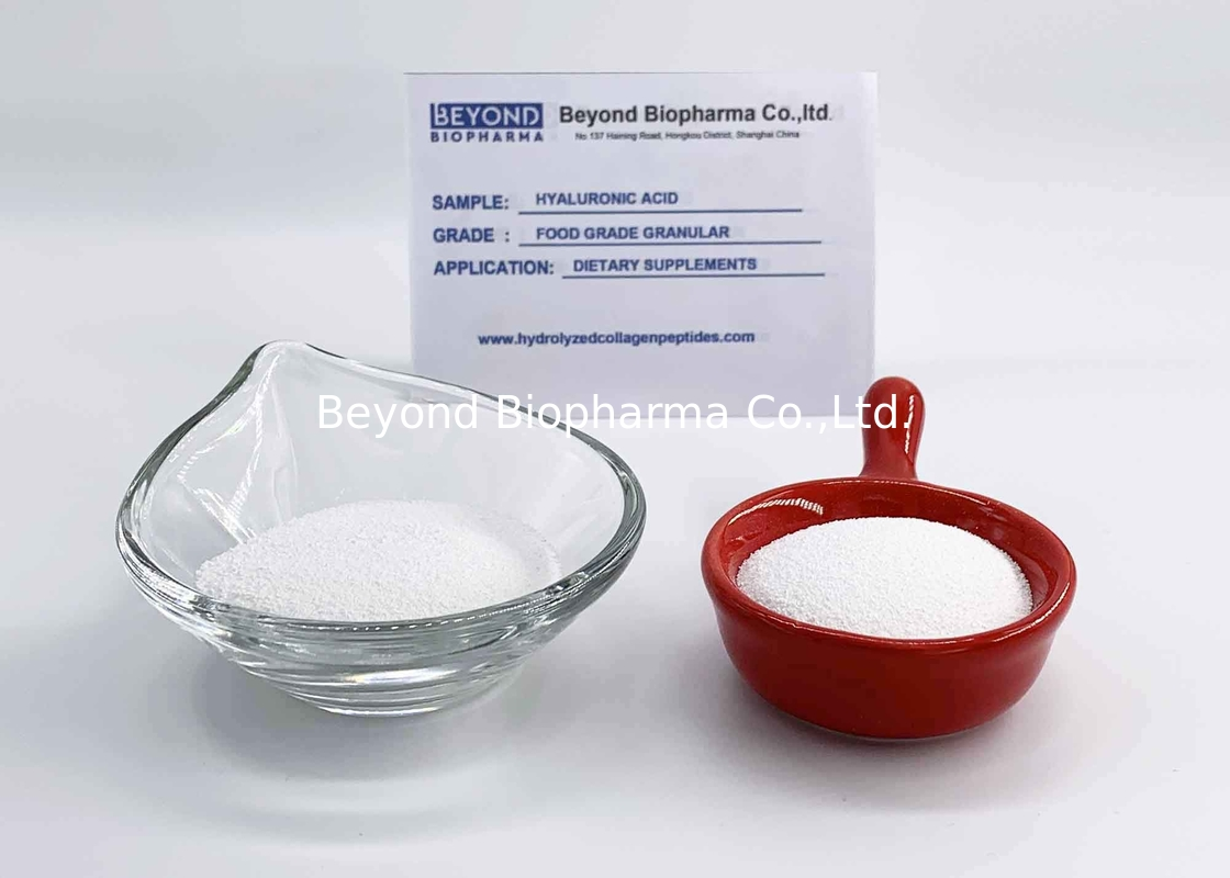 White Hyaluronic Acid In Cosmetics / Hyaluronic Acid Collagen Plus Powder